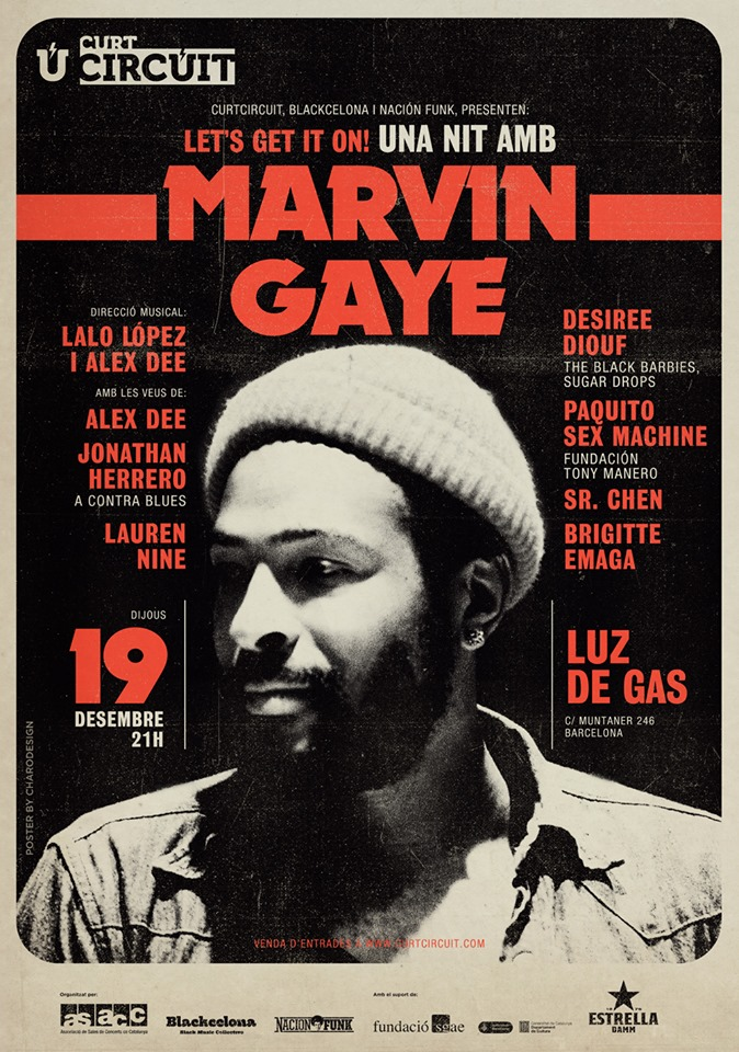 LET'S GET IT ON! Una nit amb Marvin Gaye